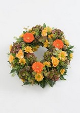 Wreath loose Mixed flowers